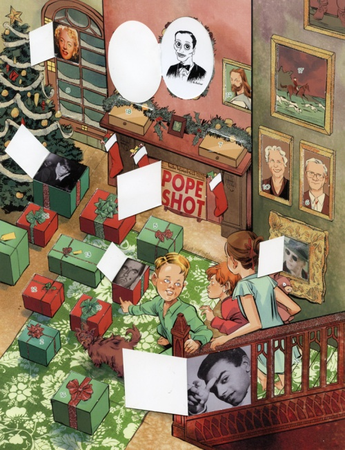 john waters advent calendar