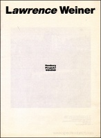 Lawrence Weiner: Hamburg Projekt 1989