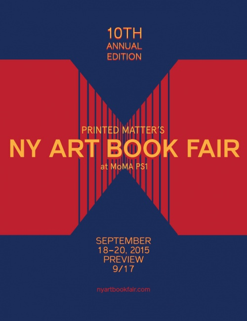 NY Art Book Fair Poster