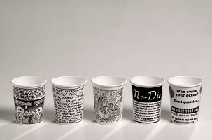 Candyass and Larry Miller: Artist Cups