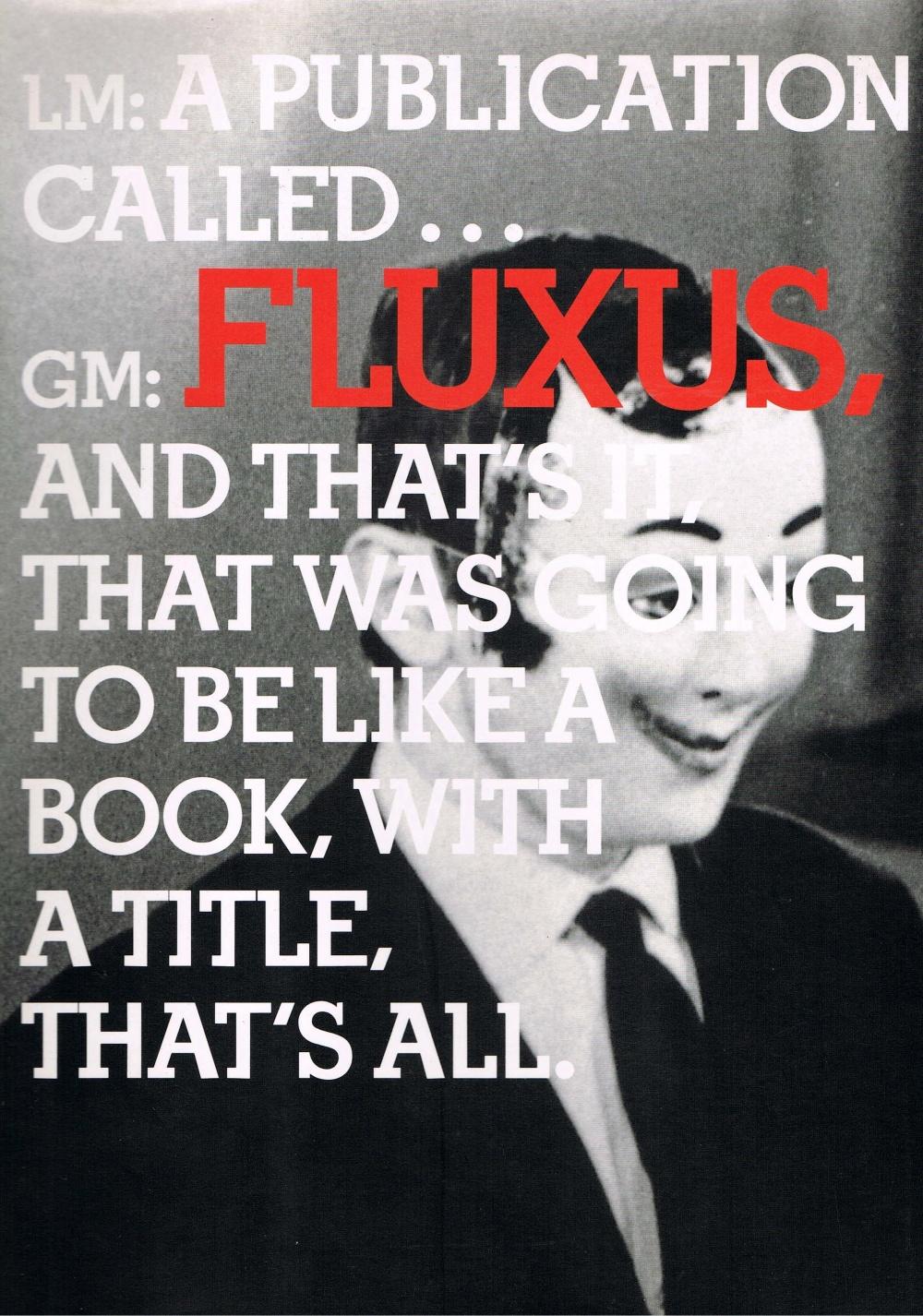 In The Spirit of Fluxus