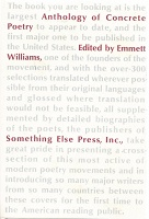 Emmett Williams: An Anthology of Concrete Poetry (no DJ)
