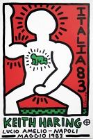 Keith Haring: Lucio Amelio Napoli Maggio 1983poster