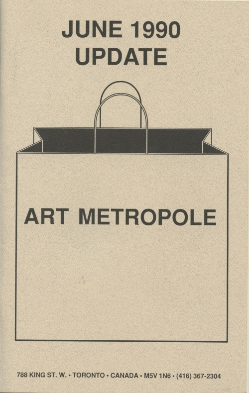 June 1990. Update. Art Metropole