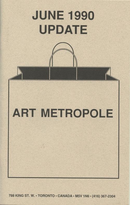 June 1990. Update. Art Metropole