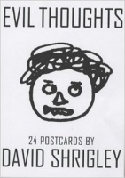 David Shrigley: Evil Thoughts: 24 Postcards