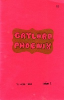Edie Fake: Gaylord Phoenix, Issue 1