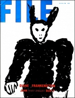 "John Scott: FILE Megazine (""Diane Frankenstein"" Vol. 6 No. 3 1985)"