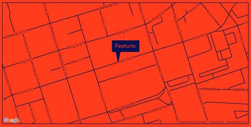 Feature Contemporary Art Fair map