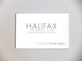 Daniel Buren:Halifax
