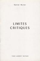 Daniel Buren: Limites Critiques - Buren,Daniel