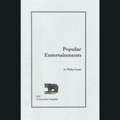 Great Bear Pamphlet: Popular Entertainments