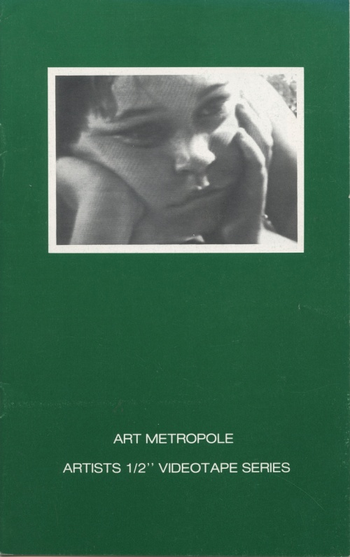 "Art Metropole. Artists' 1/2"" Videotape Series"