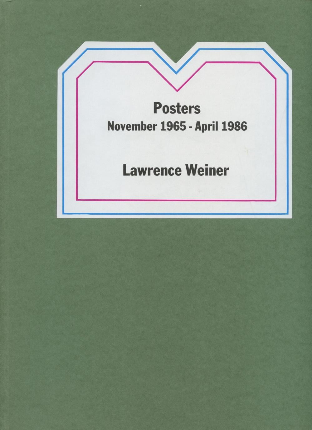 POSTERS: NOVEMBER 1965 - APRIL 1986