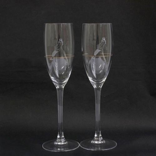 Rodney Graham Champagne Flutes