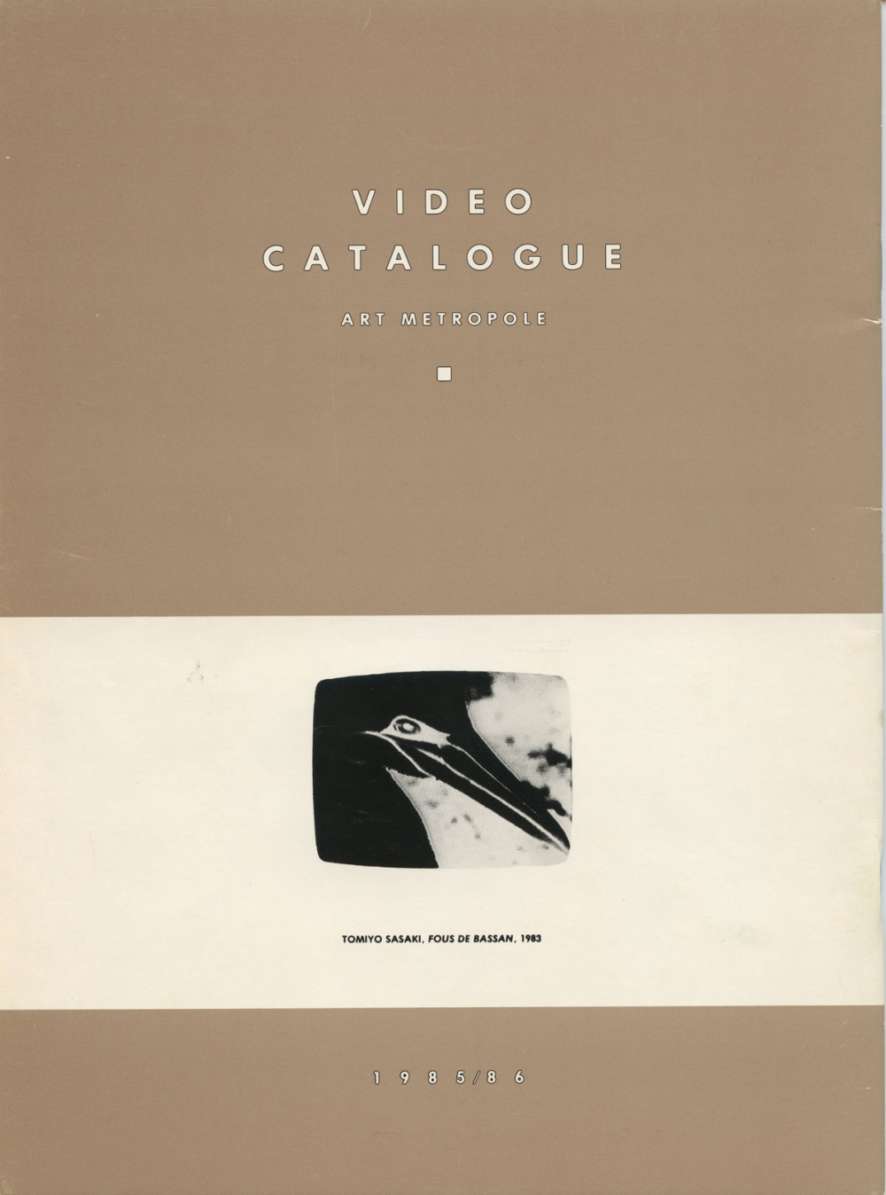 Video Catalogue. Art Metropole.