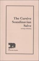 Bengt af. Klintberg: The Cursive ScandinavianSalve