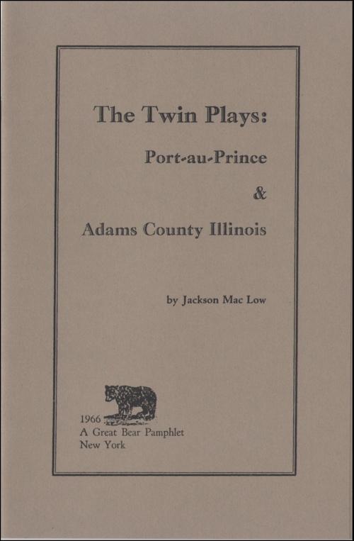 The Twin Plays: Port-Au-Prince