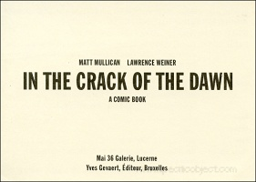 Matt Mullican: In the Crack of Dawn