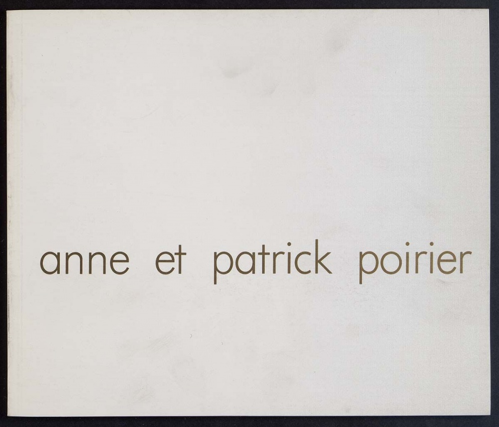 Anne and Patrick Poirier
