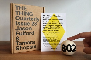 Jason Fulford and Tamara Shopsin: The Thing Quarterly - Issue 28: Jason Fulford & Tamara Shopsin