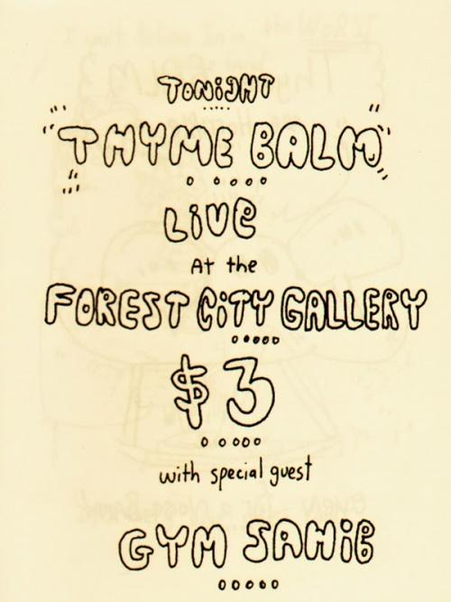 Thyme Balm Live
