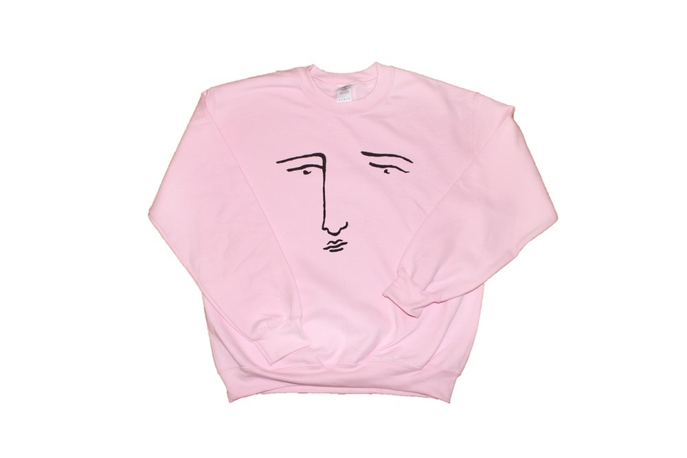 Poor Gray Sweatshirt - pink