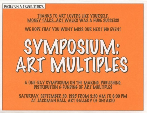 Symposium on Art Multiples