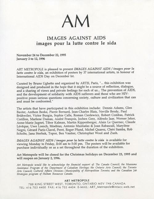 Images Against AIDS / images pour la lutte contre le