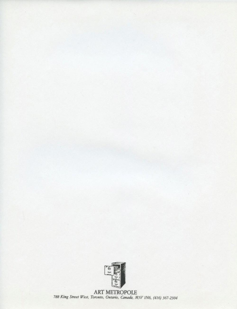 Art Metropole (Filing Cabinet)