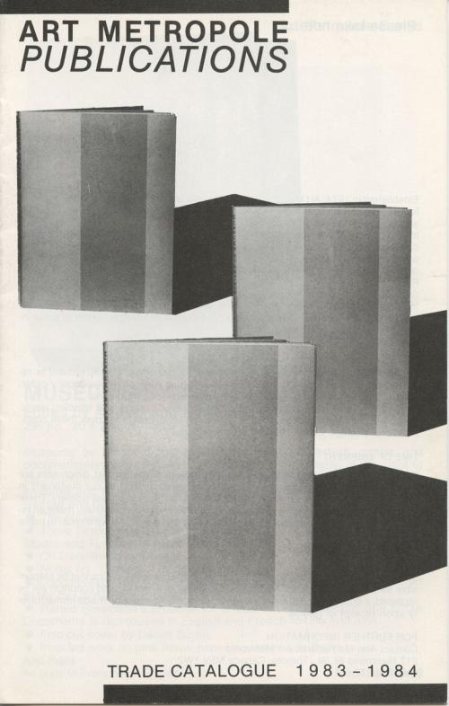 Art Metropole Publications Trade Catalogue 1983-1984