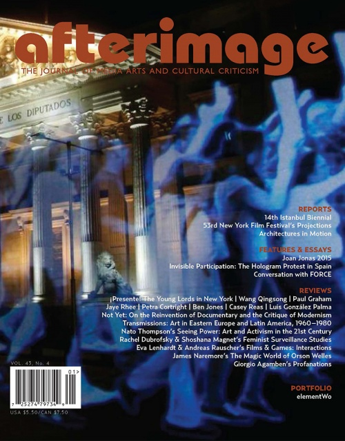 Afterimage Vol. 43, No. 4