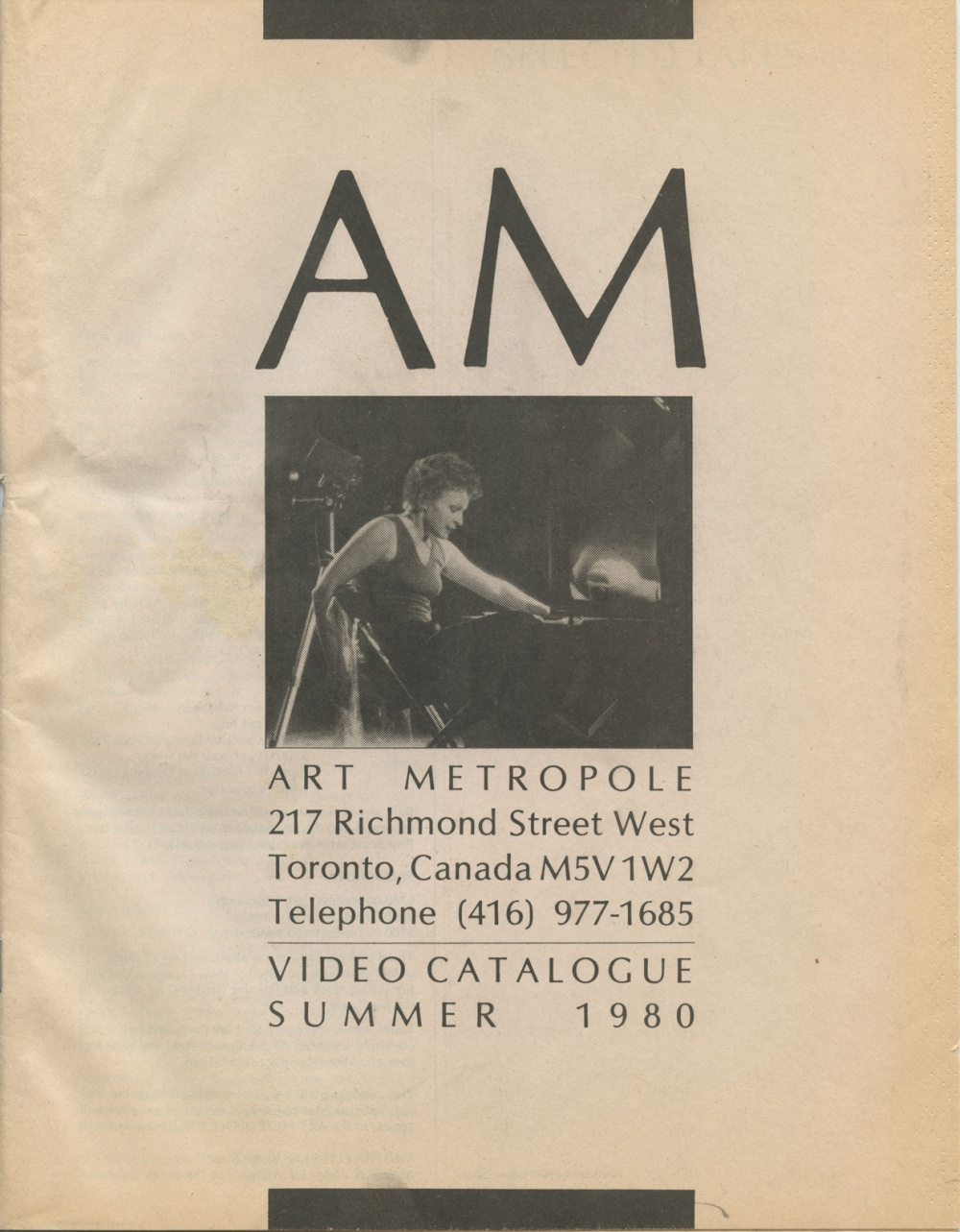 AM. Video Catalogue Summer 1980