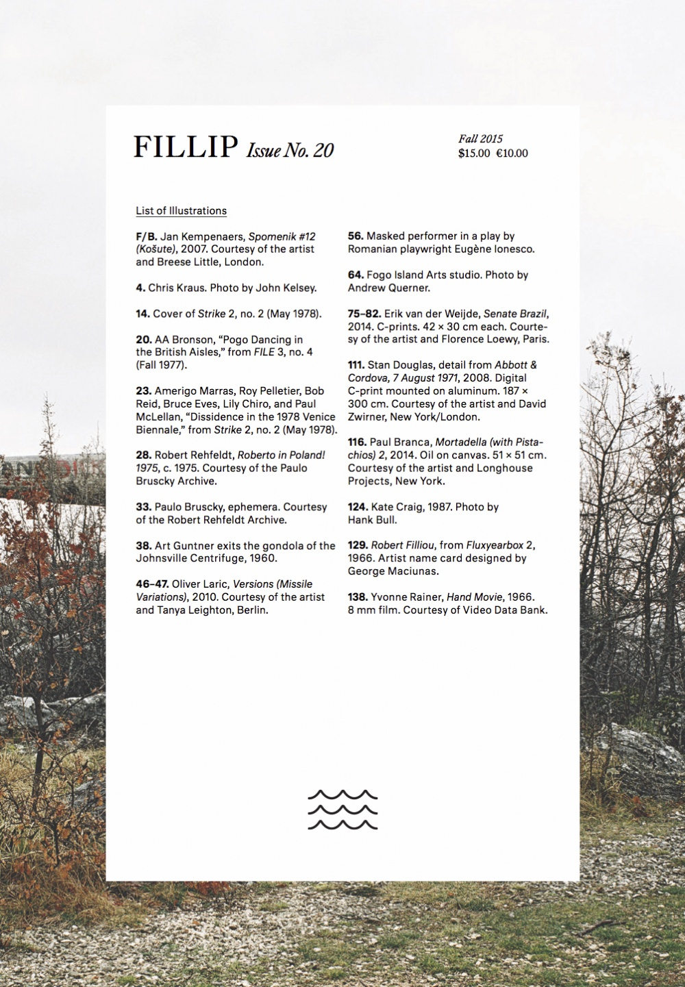 Fillip Issue No. 20