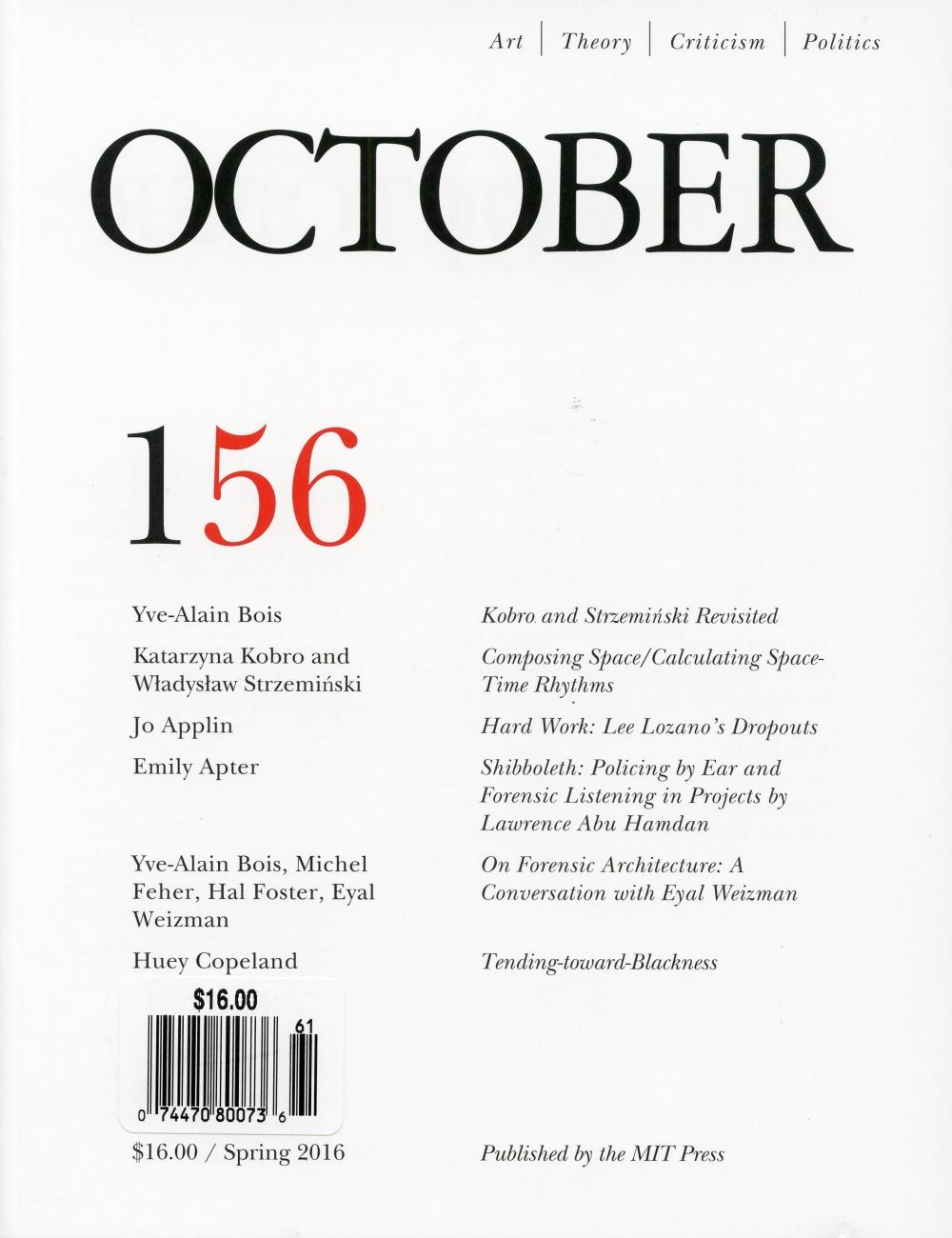October 156