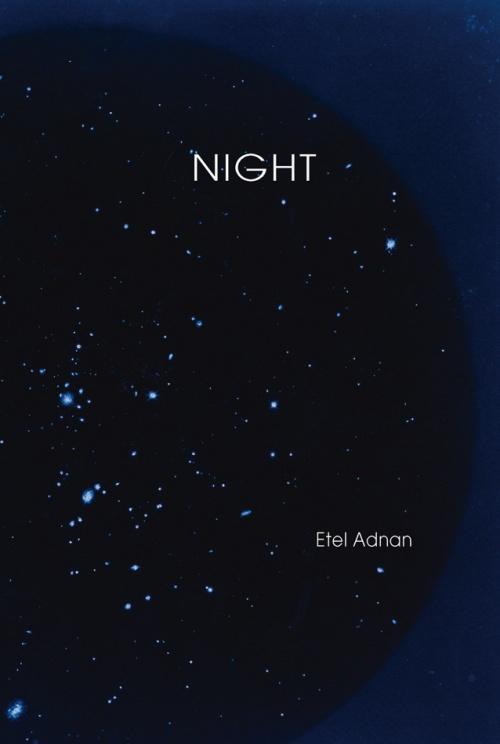 Night Etel Adnan