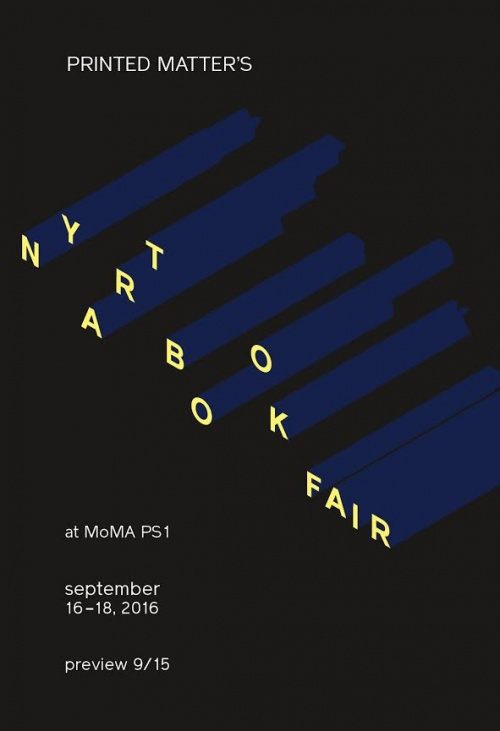 NY Art Book Fair, 2016