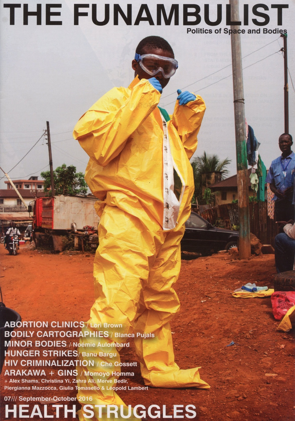 THE FUNAMBULIST 07/// Sept-Oct 2016: HEALTH STRUGGLES