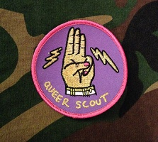 Mary Tremonte: Queer Scout Badge
