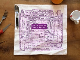 Tucker Nichols: 'What Not to Talk About' Napkins