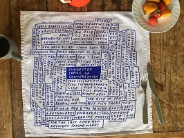 Tucker Nichols: 'Suggested Topics of Conversation' Napkins
