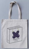 Basil Alzeri: Aubergine: The Book Bag