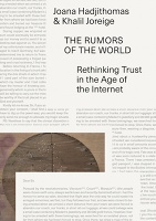 Joana Hadjithomas and Khalil Joreige: The Rumors of the World