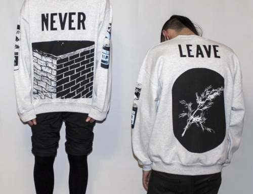 Never Leave Sweater