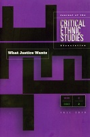 Critical Ethnic Studies: Volume 2 Issue 2