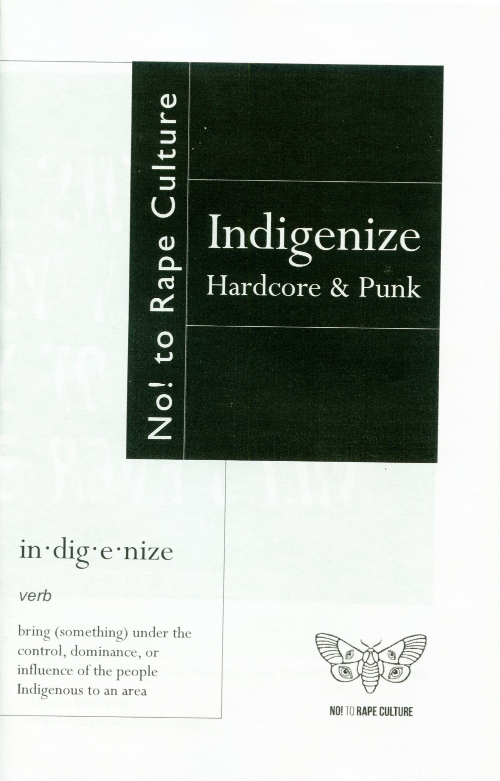 Indigenize hardcore & Punk