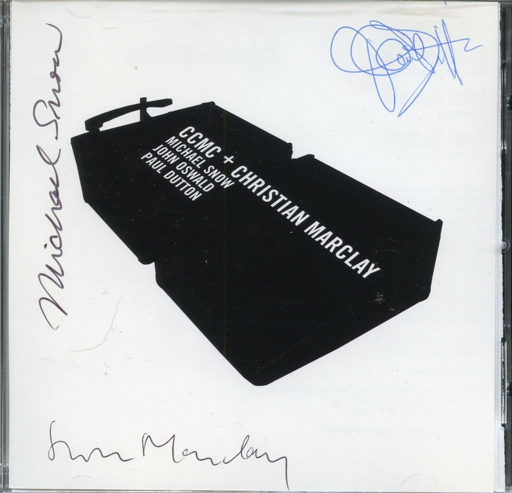 CCMC + Christian Marclay (signed)