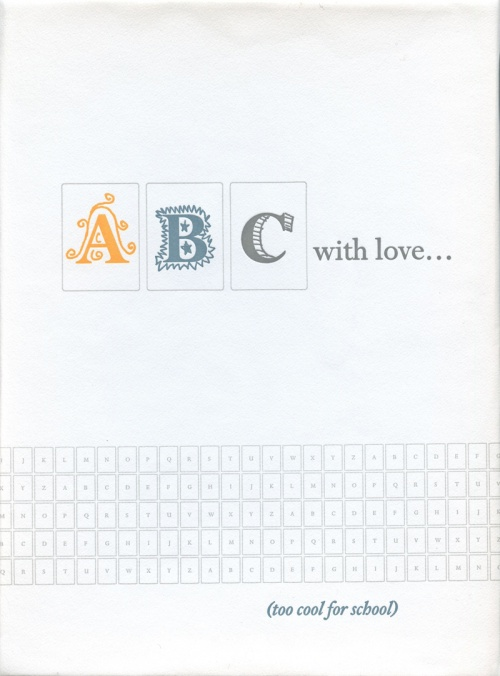 AMP0805 ABC…with love (too cool for school)