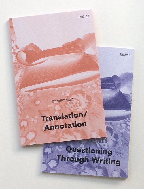 EMILIA-AMALIA set: Chapbooks 2 & 4