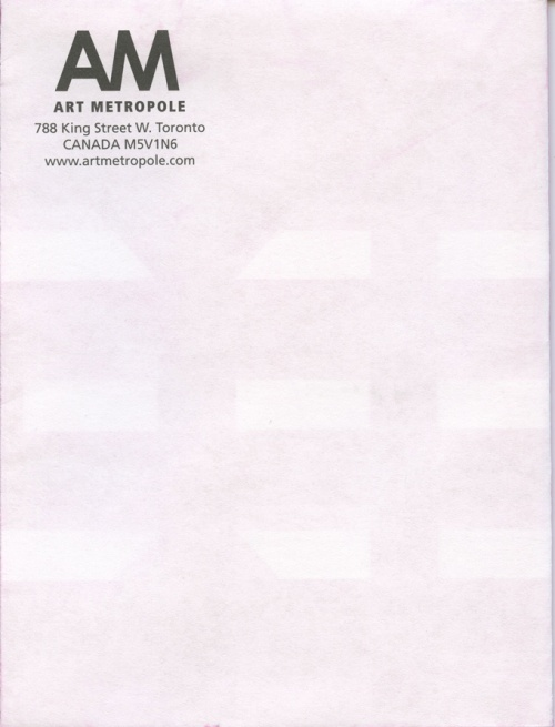 AMP0701 Art Metropole Audio Catalogue